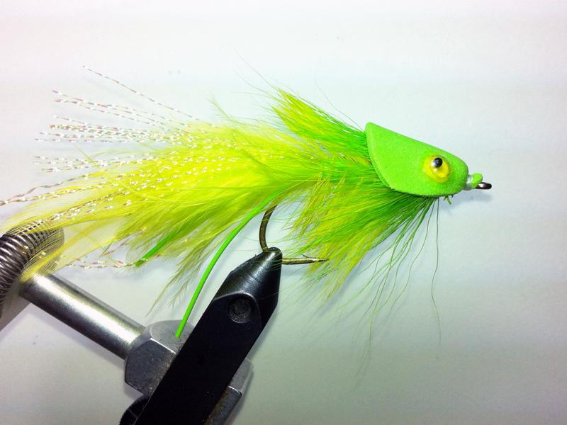Foamy D ~ Bass Fly