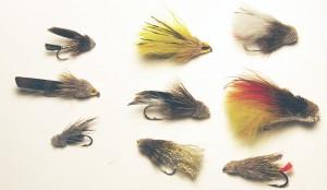 Variety of Muddler Minnows