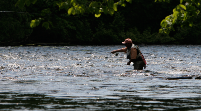 USGS Stream Flow Data keeps Anglers well informed.