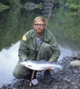 First ever steelhead Nehalem River in Oregon