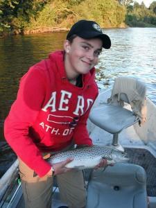 27-inch lake run brown trout