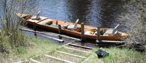 Traditional Au Sable River Boat